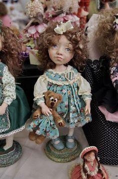 ВРЕМЯ КУКОЛ №20 - выставка кукол и мишек Тедди
