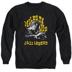 "Checkout our #LicensedGear products FREE SHIPPING + 10% OFF Coupon Code ""Official"" Concord Music / Jazz Legend - Adult Crewneck Sweatshirt - Concord Music / Jazz Legend - Adult Crewneck Sweatshirt - Price: $39.99. Buy now at https://officiallylicensedgear.com/concord-music-jazz-legend-adult-crewneck-sweatshirt"