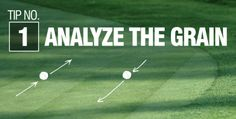 STOP MISSING YOUR PUTTS! Great advice on how to read the grain of the green while golfing. These 3 tips will help beginner golfers improve their game. Easy! #benchcraft