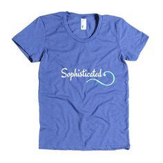 Sophisticated-Women's short sleeve t-shirt