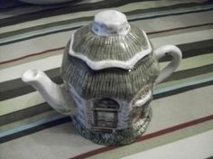Why not have a decorative teapot to your next tea social? You could even blend one into the theme. The one shown here is of a bakery, which would...