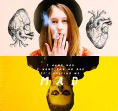 Tate & Violet from American Horror Story ... Love their freaky love story!! ... EVAN PETERS & TAISSA FARMIGA