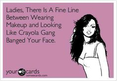I know someone or two who looks like this!! haha