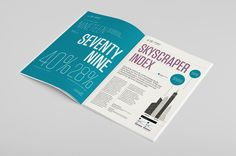 Knight Frank - Skyscrapers Report 2015 on Behance