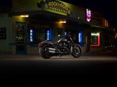 If your tastes run to high-end horsepower served with a big meaty powerband and a seriously demented topping of black paint, get ready to dig in. | 2016 Harley-Davidson Night Rod Special
