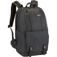 on sale $52.99 best buy side entry....Lowepro - Fastpack 350 Camera Backpack - Black - Angle