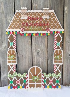 Giant Gingerbread house party frame – christmas party photo booth, kid's photo booth, with christmas lights, candy, merry christmas Riesen Lebkuchenhaus Party Rahmen Weihnachtsfeier Foto Office Christmas, Merry Christmas, Kids Christmas, Christmas Lights, Christmas Crafts, Christmas Decorations, Celebrating Christmas, Xmas, Christmas Photo Booth