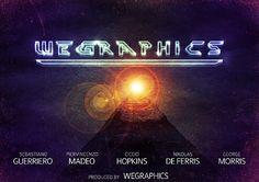 Create a retro sci-fi movie poster in Photoshop