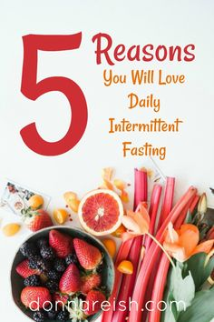 5 Reasons You Might Need a Shorter Eating Window in Daily Intermittent Fasting by Donna Reish