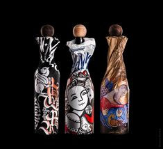 Folk art Inspired House Wine Packaging With a Contemporary Touch! / World Brand Design Society Juice Branding, Corporate Branding, Identity Branding, Rice Packaging, Brand Packaging, Graphic Design Print, Graphic Design Typography, Book Cover Design, Book Design