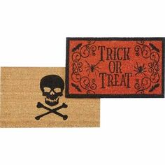 Fall & Halloween Doormats