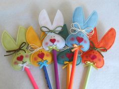 lápis de coelhinhos