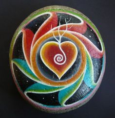 ; crept into our lives.  Sally's painted stone mandala is an engagement present.    in Tasmania and Windgrove…