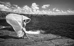 Sehnsucht nach Meer Akt