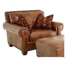 Silverado Chair in Caramel Brown | Nebraska Furniture Mart