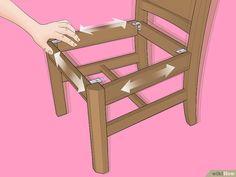 Resultado de imagen de como colocar una cuerda ancha en un asiento