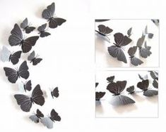 butterfly wall decor as your home decor in living room bed room , adhesive to wall ,so beautiful , several color available. 3d Butterfly Wall Decor, 3d Butterfly Wall Stickers, Bed In Living Room, Living Room Decor, Decor Room, Bed Room, Kids Room Wall Stickers, Cute Home Decor, Vinyl Art