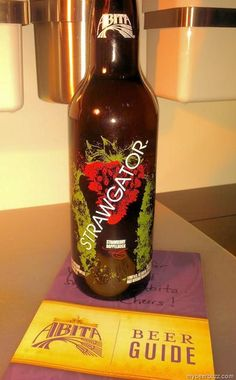 mybeerbuzz.com - Bringing Good Beers & Good People Together...: Abita Strawgator Strawberry Doppelbock - A First S...