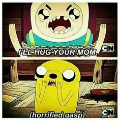 Adventure Time - (Finn Quotes) So funny I laugh everytime I read this. Adventure Time Quotes, Adventure Time Finn, Land Of Ooo, My Champion, Finn The Human, Jake The Dogs, Bravest Warriors, What Time Is, Bubbline