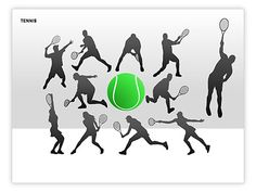Free Tennis Silhouettes  http://www.poweredtemplate.com/powerpoint-diagrams-charts/ppt-powerpoint-silhouette/00225/0/index.html