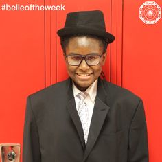 "In AP English Language and Composition, Red Tie '19, Udoka Abada has gone from analyzing Malcom Gladwell's popular podcast, ""Revisionist History"" to performing her original spoken word as Nick Carraway from The Great Gatsby. Udoka is an impressive student, keep up the good work!"