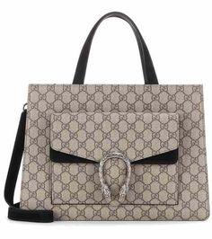 3333c4aca79e Dionysus GG Supreme coated canvas tote   Gucci Sacs, Sac Fourre Tout, Sacs  Gucci