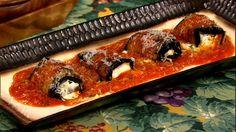 Carla and Clinton's Eggplant Rollatini Recipe #thechew