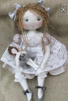 ***  Suzie et sa poupée .. 35 cm  ***