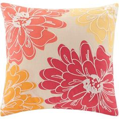 Better Homes and Gardens Exploded Floral Pillow - Walmart.com