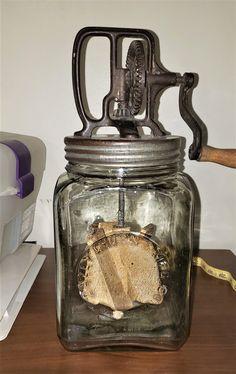 Kitchen Utensils, Kitchen Items, Kitchen Tools, Kitchen Gadgets, Vintage Iron, Vintage Items, Vintage Stuff, Antique Glass Bottles, Glass Jars