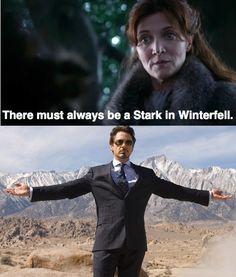 Hey Starks, cousin Tony's in town.