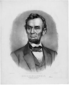 *ABRAHAM LINCOLN~Portrait:  the 16th President of the United States, serving from March 1861 until his assassination in April 1865. Lincoln successfully led his country through its greatest constitutional, military, and moral crisis – the American Civil War – preserving the Union while ending slavery, and promoting economic and financial modernization.""