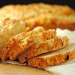 Cheddar Beer Bread ~ April #SecretRecipeClub Reveal! | Juanita's Cocina