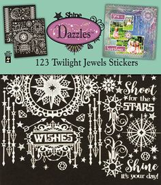 Twilight Jewels Scrapbooking Dazzles™ by Hot Off The Press Inc (4102843)