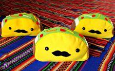 Taco Pencil Bag por CataliciousCreations en Etsy