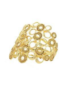 Charlene K Jewelry CMC - Gold Cuffs