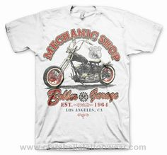 Mechanic Shop Bobber Garage Hotrod T-Shirt (White)  Mechanic Shop Bobber Garage Hotrod T-Shirt (White)     Ride fast to route 66 with this on of a kind white t-shirt. A real piece of gem from the Hotrod & Bikers.   Available in various sizes(cm):..  Price: €24.95  http://www.clarabellatattoowear.com/men/t-shirts/hotrod/mechanic-shop-bobber-garage-hotrod-t-shirt-white/   Don't you like promotions? Don't miss out! Claim YOUR rocking 15% discount code: http://eepurl.com/boSy7H
