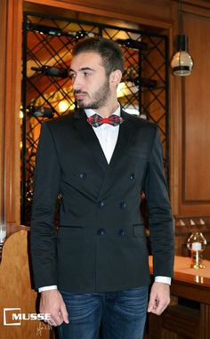 Christmas outfit >> www. Double Breasted Suit, Christmas Time, Suit Jacket, Mens Fashion, Suits, Jackets, Moda Masculina, Down Jackets, Man Fashion
