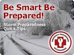 Storm Preparedness Tips