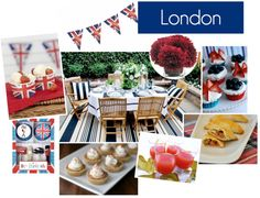 London party board, Summer 2012. Stephy, have a London party before you leave! @Stephanie Close Riales