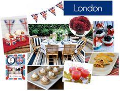 London party board, Summer 2012