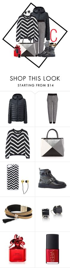 """C=chevron"" by jckallan ❤ liked on Polyvore featuring Uniqlo, Joseph, Balmain, Fendi, CUL-DE-SAC, Simons, Marc Jacobs, NARS Cosmetics, MAC Cosmetics and chevron"