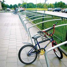 STREETLIFE Bicycle Fence System. #StreetFurniture #UrbanDesign #ChildProof #BikeRack