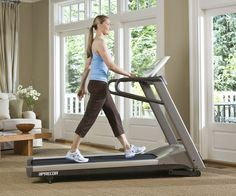 The 9.27 treadmill provides a comfortable foundation for your cardio fitness or weight loss goals. With our patented shock absorption, a smaller size, and just the right combination of features, the 9.27 fits into your home and healthy lifestyle with ease. Full length handlebars, aluminum side rails. Patented Ground Effects Impact Control Technology reduces joint stress, minimizes fatigue and helps prevent injuries.