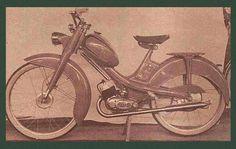 Une cyclomoteur Guiller fabriqué à Fontenay-le-Comte dans le sud Vendée
