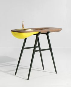 Gregoire de Lafforest : Balka Console Designed for a hallway table you can place your misc. objects into
