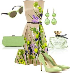 Beautiful spring outfit