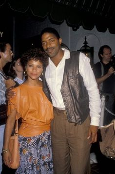 #throwback Debbie with Norm Nixon, credit: mark perkins, kids from fame