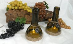 Recycled Wine Bottle Hurricane Toppers for by TeaLightedTeacups