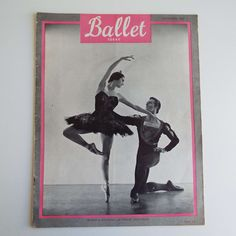 Excited to share the latest addition to my #etsy shop: Vintage November 1958 Ballet Today Magazine Rowena Jackson Philip Chatfield New Zealand Royal Ballet Dance https://etsy.me/2GHmFi2 #booksandzines #zine #ballettoday #margotfonteyn #rowenajackson #philipchatfield #v